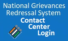 National Grievance Redressal System, contact center login