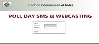 Poll Day SMS and Webcasting